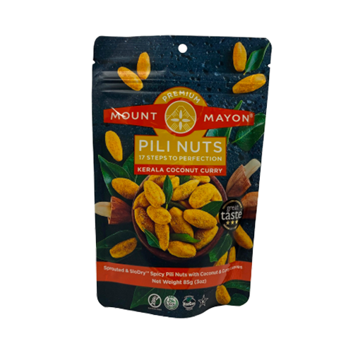Mount Mayon Premium Pili Nuts Kerala Coconut Curry 85grams