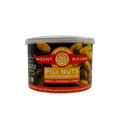 Mount Mayon Premium Pili Nuts Kerala Coconut Curry 130grams