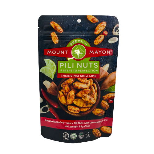 Mount Mayon Premium Pili Nuts Chiang Mai Chili Lime 85grams