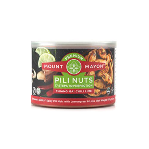 Mount Mayon Premium Pili Nuts Chiang Mai Chili Lime 130grams
