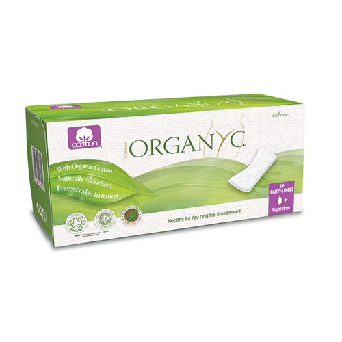 Organyc Cotton Panty Liner Light Flow 24 Liners