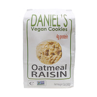 St. Amour Daniel's Vegan Cookies Oatmeal Raisin with Protein 340g