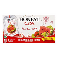 Honest Kids Super Fruit Punch Juice 8 pouches, 200ml