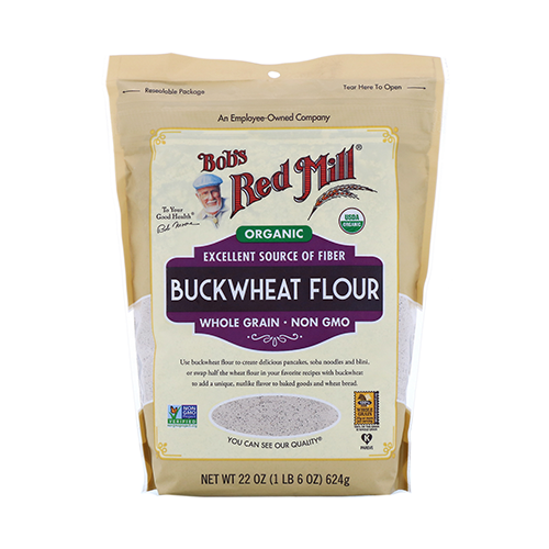 Bob's Red Mill Organic Buckwheat Flour 624g