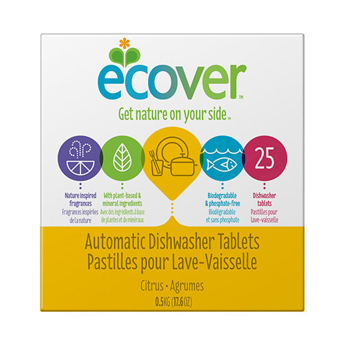 Ecover Automatic Dishwasher Tablets 0.5kg