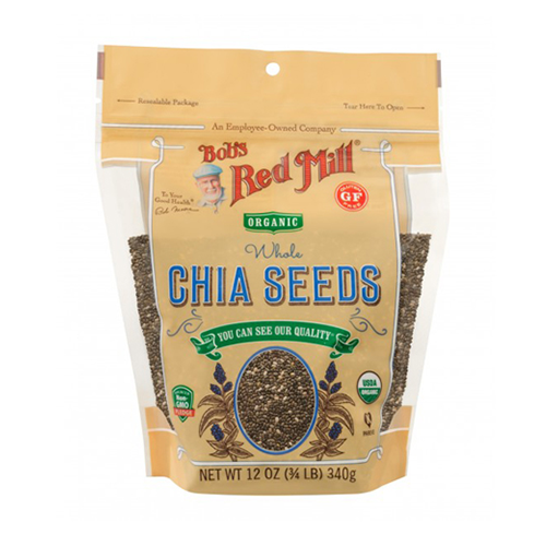 Bob's Red Mill Organic Whole Chia Seeds 340g