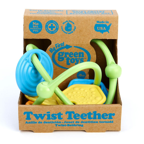 Green Toys Twist Teether 0 months+