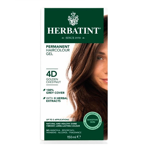 Herbatint 4D Golden Chestnut Hair Color 150ml