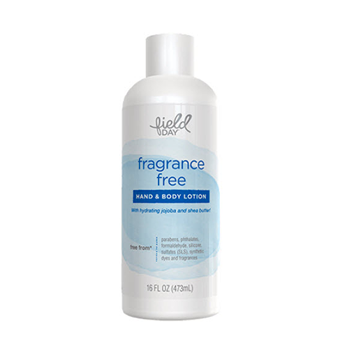 Field Day Hand & Body Lotion Fragrance Free 473ml
