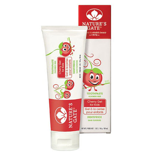 Natures Gate Toothpaste Kids Cherry Gel 142g