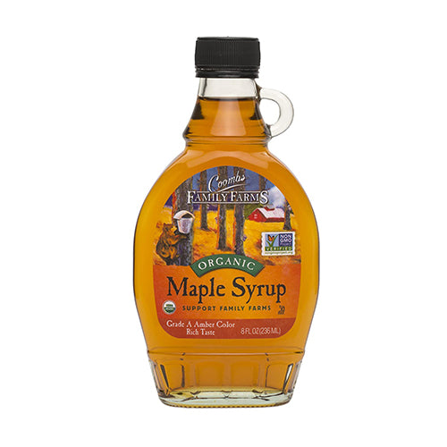 Coombs Organic Maple Syrup Grade A Dark Color Robust Taste 236mL