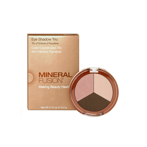 Mineral Fusion Eye Shadow Trio Rose Gold