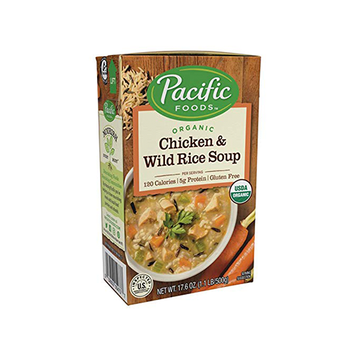 Pacific Foods Organic Chicken & Wild Rice Soup 500g