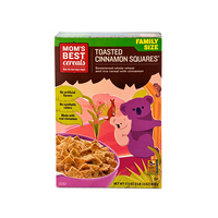 Mom's Best Cereals Toasted Cinnamon Squares 496g