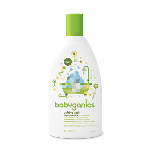 Babyganics Chamomile Verbena Bubble Bath 591ml