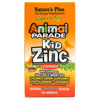 Nature's Plus Kid Zinc Animal Parade 90 Lozenges