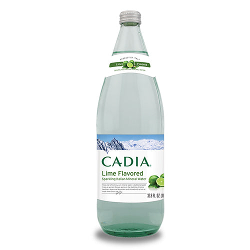 Cadia Lime Flavored Sparkling Italian Mineral Water 1L