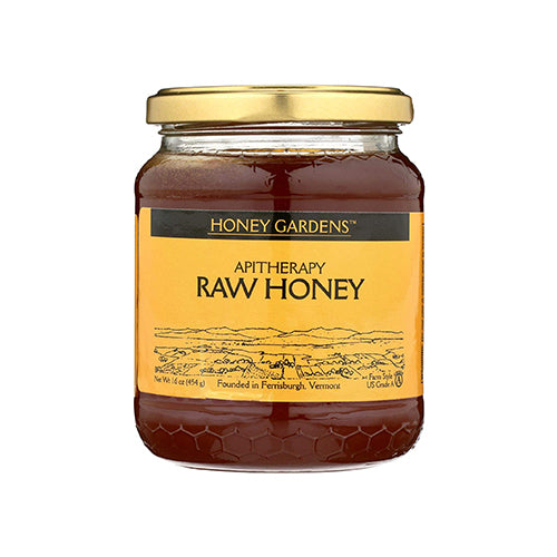Honey Gardens Apitherapy Raw Honey 454g