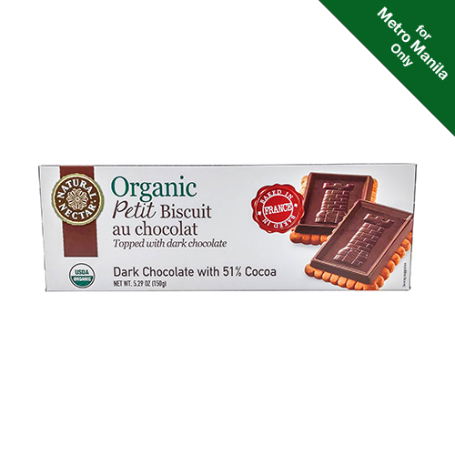 Natural Nectar Petit Biscuit Dark Chocolate with 51% Cocoa Cookies 150g