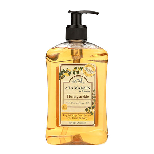 A La Maison Honeysuckle Liquid Soap 500ml