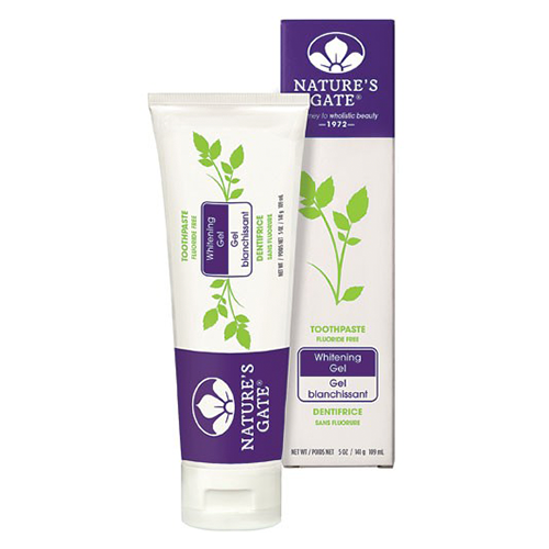 Natures Gate Toothpaste Whitening Gel 142g