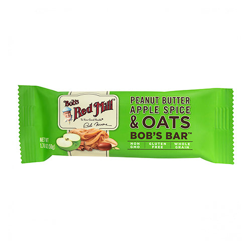 Bob's Red Mill Peanut Butter Apple Spice & Oats Bob's Bar 50g
