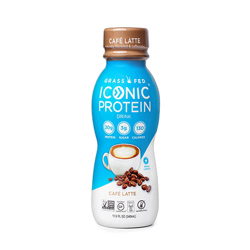 Iconic Café Latte Protein Drink 340ml