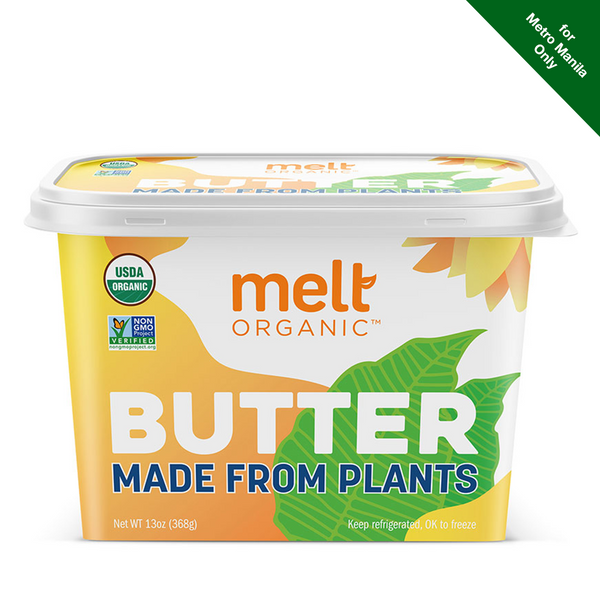 Chilled Melt Organic Butter Made from Plants 368g