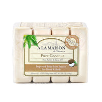 A La Maison Coconut Bar Soap 396g