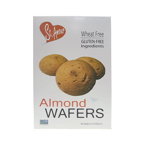 St. Amour Gluten-Free Almond Orange Wafers 170g