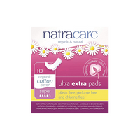 Natracare Ultra Extra Pads Super Flow 10 Pads