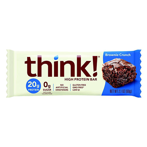 Think! High Protein Bar Brownie Crunch 60g