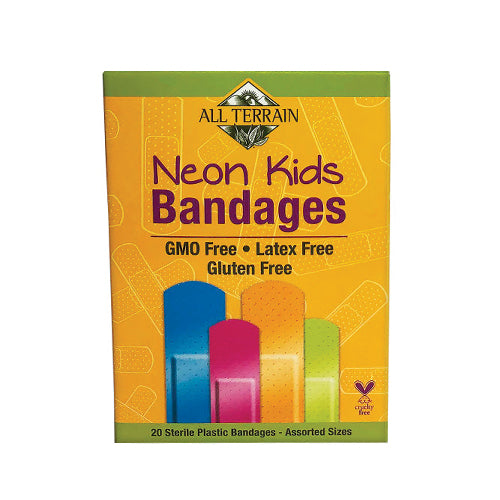 All Terrain Neon Kids Bandages 20count
