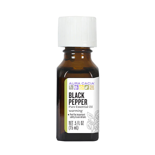 Aura Cacia Black Pepper Essential Oil 15ml