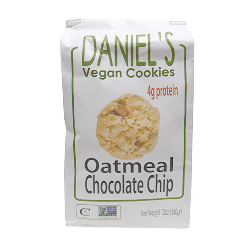 St. Amour Daniel's Vegan Cookies Oatmeal Chocolate Chip with Protein 340g