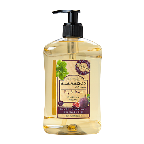 A La Maison Fig & Basil Liquid Soap 500ml