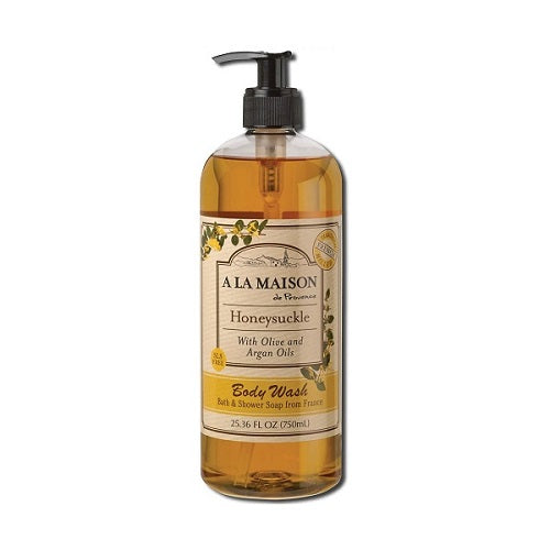 A La Maison Honeysuckle Body Wash 750ml