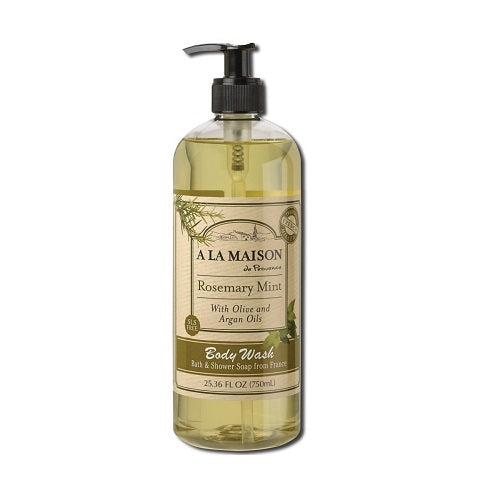 A La Maison Rosemary Mint Body Wash 750ml