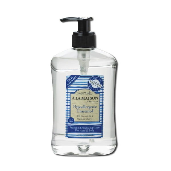 A la Maison Hypoallergenic Unscented Liquid Hand Soap 500ml