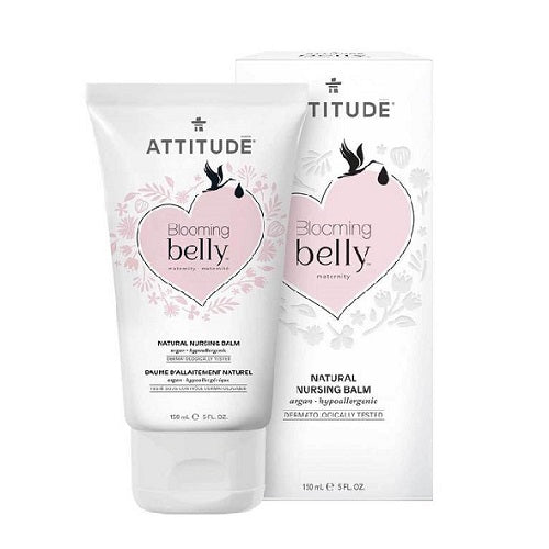 Attitude Blooming Belly Nursing Balm Argan 150ml