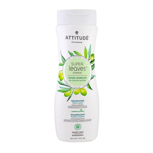 Attitude Super Leaves Nourishing Olive Leaves Shower Gel 473ml
