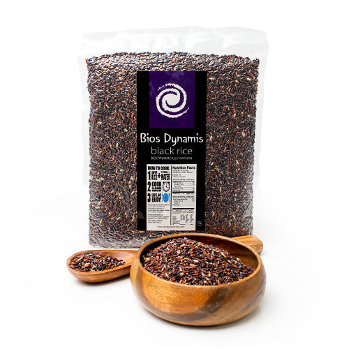 Bios Dynamis Organic Black Rice 1kg