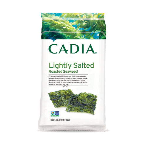 Cadia Lightly Salted Roasted Seaweed 10g