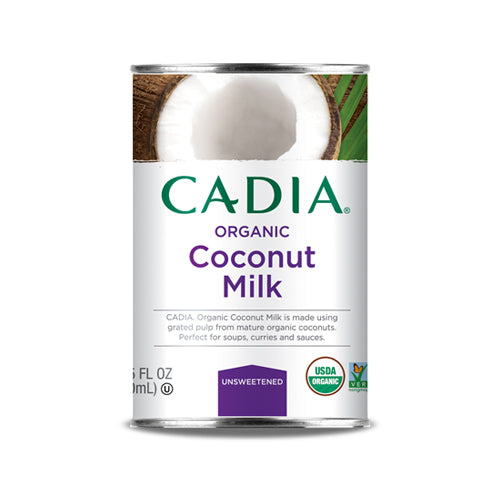 Cadia Organic Coconut Milk Unsweetened 400ml