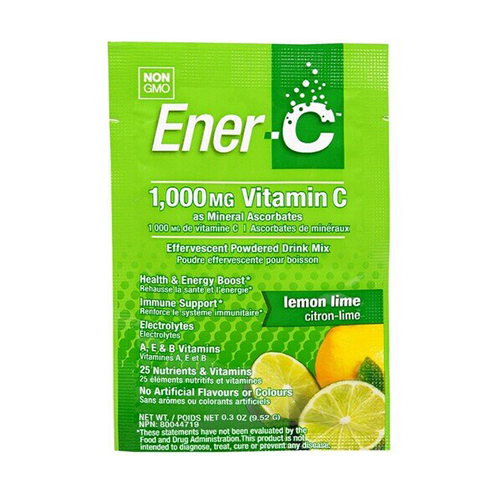 Ener-C 1,000mg Vitamin C Lemon Lime Single Packet