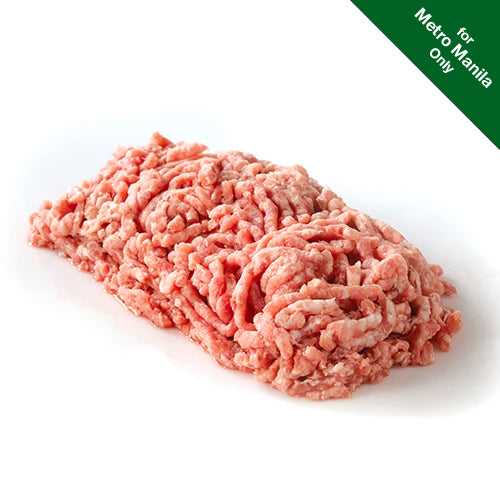 Frozen Healthy Options All-Natural Pork Ground (80 Lean:20 Fat) 500g