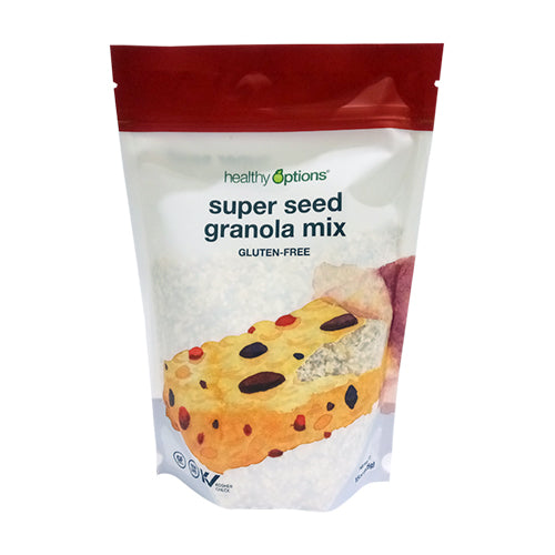 Healthy Options Super Seed Granola Mix 15 Ounces