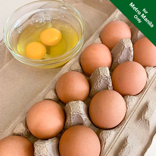 Healthy Options All-Natural Eggs (12 pcs) Medium (56-60g)