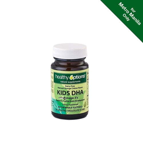 Healthy Options Kids DHA Omega-3 60 Chewable Softgels