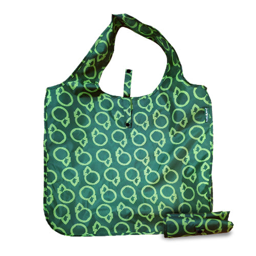 Healthy Options Reusable Bag - Dark Green